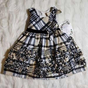 NEW Iris & Ivy Plaid Toddler Dress size 24M